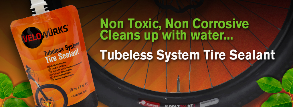 Tubeless System Tire Sealant